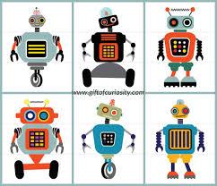 flip robot free printable activity book gift curiosity