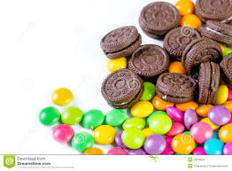 candy sweet color and cookies stock photo image 52078247