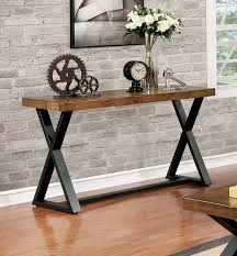 Industrial Console Table 17 Stories Stahl Industrial Console Table Reviews Wayfair