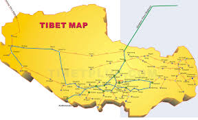 China Maps by Tibet Map Map Of Tibet China