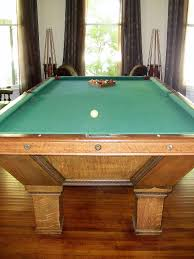 Antique Brunswick Pool Tables by Schmidt Antique Pool Table Rockwell Antiques Dallas
