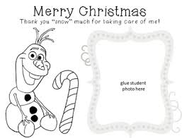 christmas card coloring sheet kinder creations blackwell