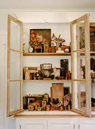 Curio Cabinets Memphis Tn 12 Ways To Display And Enjoy Artwork At Home U2013 Design Sponge