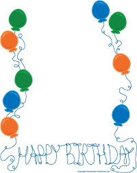 boy birthday boy birthday border clipart clipart panda free clipart images