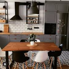 what color countertops go with wood cabinets kitchen with gray cabinets why to choose this trend decoholic