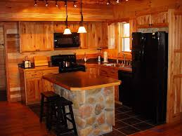Rustic Cabin Kitchen Cabinets Amazing Rustic Decorating Ideas For Homes Best House Design