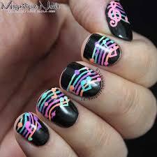 20 coolest music note nail designs you u0027ll love u2013 naildesigncode