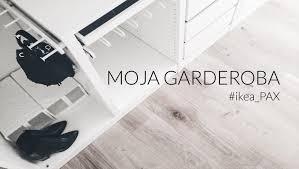 Ikea White Laminate Flooring Ikea Pax Szafa Garderoba Diy Youtube