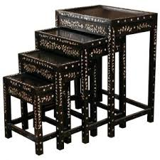 buy nest of tables furniture organization dazzling nesting tables for your living