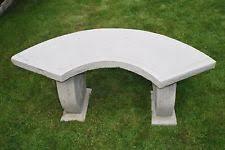 Concrete Patio Bench Concrete Garden U0026 Patio Benches Ebay