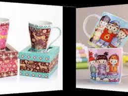 Decorating Porcelain Mugs Handmade Creative Ceramic Mug Ideas Colorful Decorating Picture