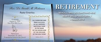unique pastor retirement gifts wording sles central
