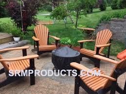 Composite Patio Table Polywood Adirondack Chair Kits Home