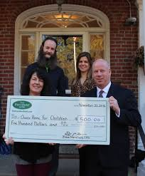 the provident bank invests 500 to support the chase home for