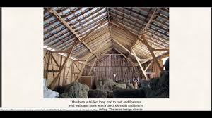 amish barn design allows it to be built in a day youtube