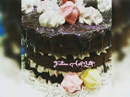 layer chocolate nutella cake