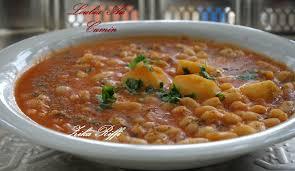 cuisine sans viande loubia bel camoun haricot blanc au cumin sans viande plat algérien