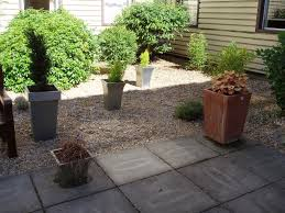 garden courtyard decorations ideas alongside ground stone with