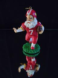 santa football usa team player sports tree ornament