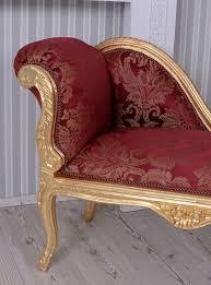 sofa rot die besten 25 barock sofa ideen auf