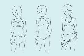 Frisuren Zeichnen Anleitung by Ein Mädchen Zeichnen Wikihow