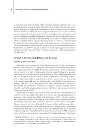 3 assessment learning science in informal environments people