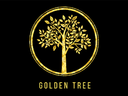 golden tree logo by alexey potapov dribbble