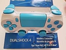 ps4 controller white light sony ps4 white light blue buttons controller brand new
