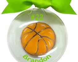 basketball ornament etsy