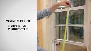 tip to tip sash measurement american craftsman double hung