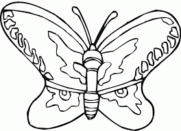 free butterfly printables kids coloring