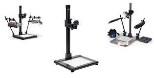 camera copy stand with lights kaiser copy stands meyer instruments
