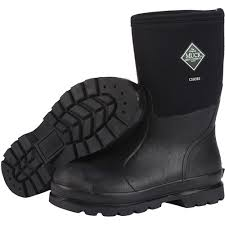 womens size 12 muck boots muck boot unisex chore mid black size m12 w13 work boots