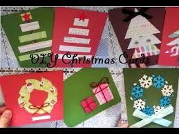 diy easy christmas card ideas youtube