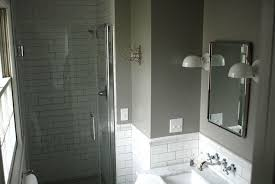 farrow and bathroom ideas subway tile with gray grout contemporary bathroom one stay
