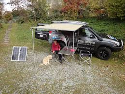 Rooftop Awning Tjm Awning 2 5 Meter Expedition Ready