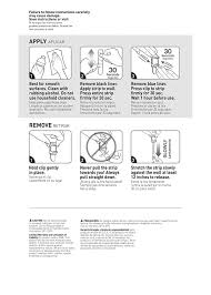 How To Hang Posters Without Damaging Walls by Amazon Com Command Poster Hanging Strips 12 Strips Clear