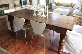How To Make A Dining Room Table Best 25 Farmhouse Dining Rooms Ideas On Pinterest Farmhouse