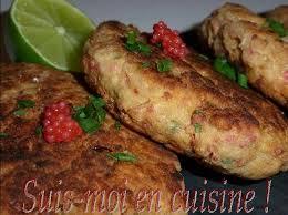 cuisiner du thon en boite steaks de thon crabe aux flocons d avoine oeufs de lump rouges