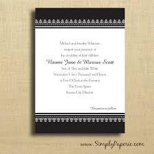 classic wedding invitations black and white classic wedding invitations simply paperie