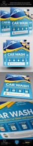 car wash services flyer templates panfletos