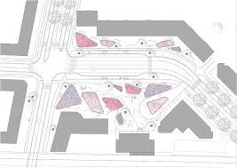 bureau b station square zwijndrecht by bureau b b landscape architecture
