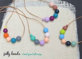silicone bead necklace images Gumball exposed cord necklace silicone teething necklace jelly jpg