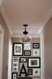 Dark Hallway Ideas by New Hallway Light Update Hallway Lighting Lights And House