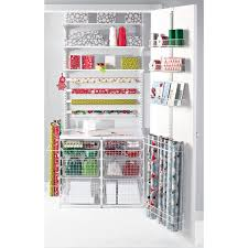 container store christmas wrapping paper 47 best elfa hobbies images on craft room storage