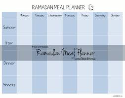 free printable menu planner template ramadan meal planner ramadan meals ramadan and planners updated for a free printable ramadan meal planner to help get organised being organised means less time in the kitchen and more time for the important