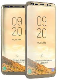 si e samsung samsung galaxy s8 plus gold tempered glass screen protector