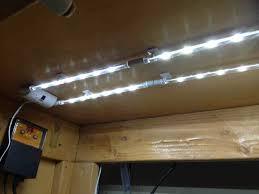 Led Lights Kitchen Cabinets Inspiring Led Rope Lights Under Kitchen Cabinets Features Brown