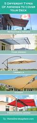 Bunnings Cantilever Umbrella by The 25 Best Deck Awnings Ideas On Pinterest Retractable Awning