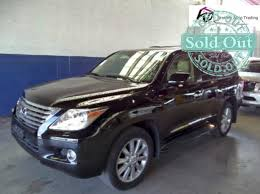 lexus 2010 black 2010 lexus lx 570 black salvage title